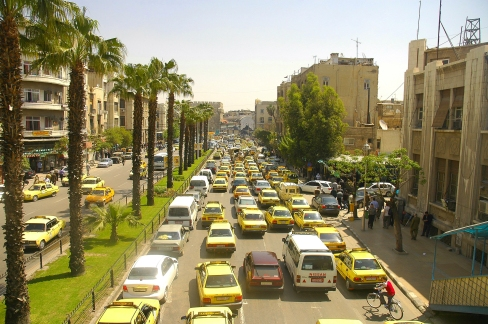 Traffic_at_Damascus_streets